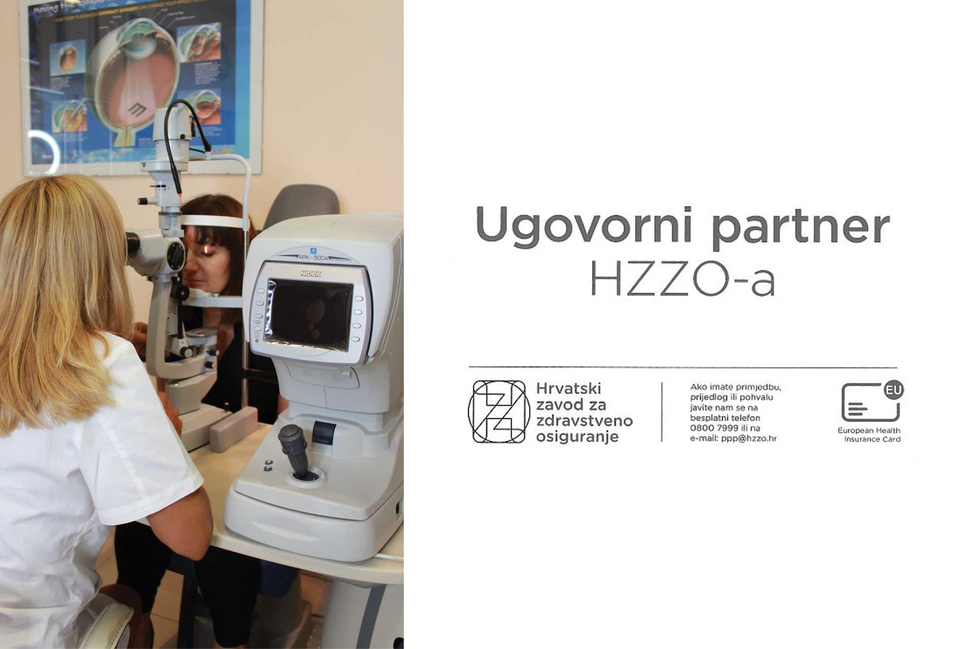 Optika Mitrovic ugovorni partner HZZO